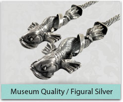 Museum Quality/ Figural silver