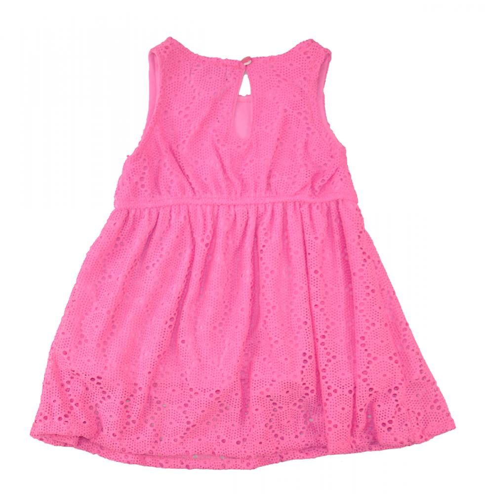 Us Polo Assn Baby Girls' 2pc Pink Sundress W/denim Vest ...