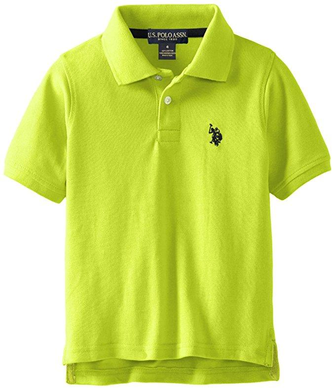 U s polo assn toddler little boys 39 classic polo shirt for Toddler boys polo shirts