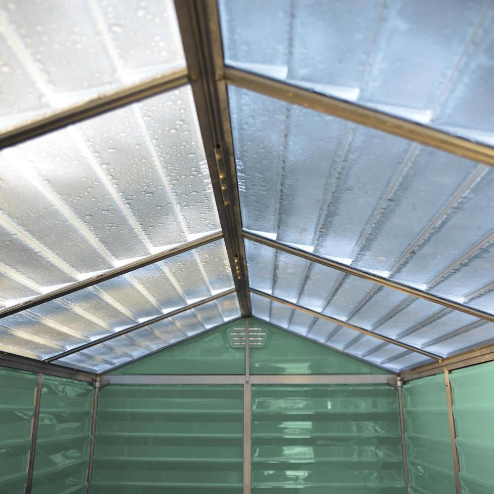 4x6 Plastic Garden Shed Skylight Storage Sheds Palram