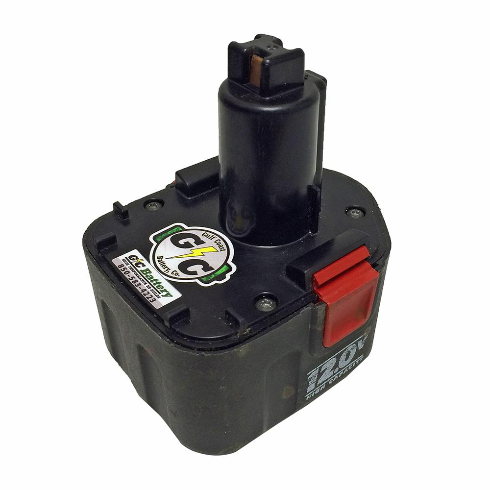 porter cable 12 volt battery 8620 rebuild service we rebuild your battery ebay. Black Bedroom Furniture Sets. Home Design Ideas