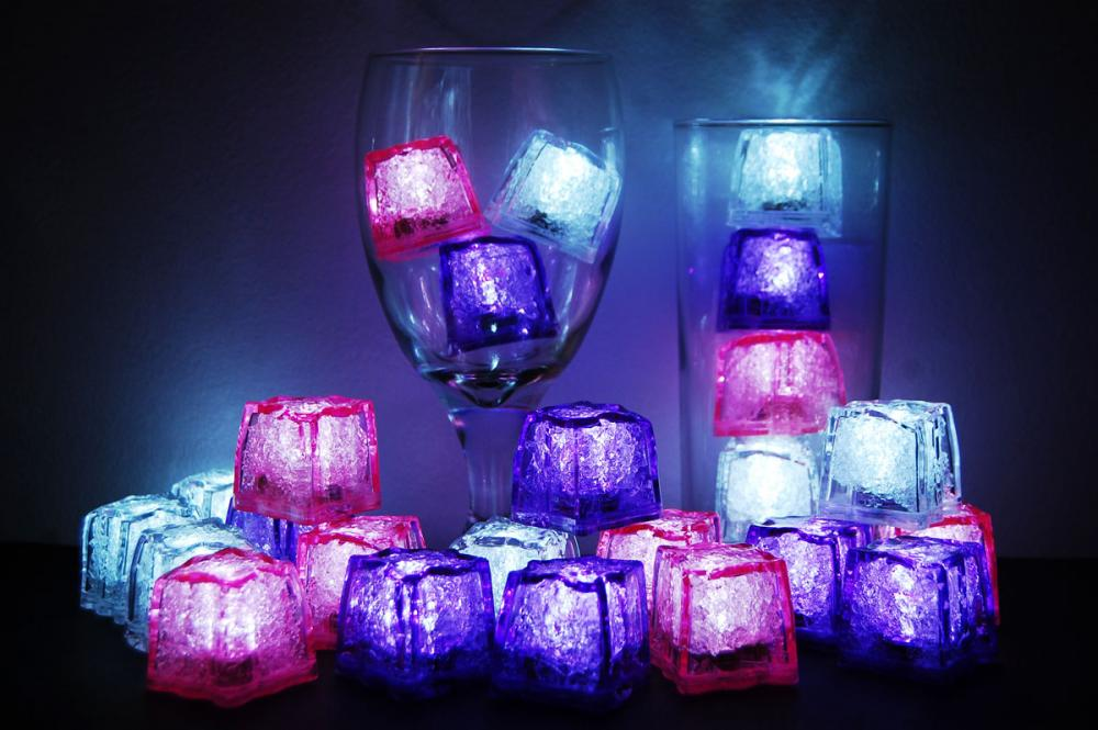 litecubes brand 3 mode jewel colored girls night out theme light up