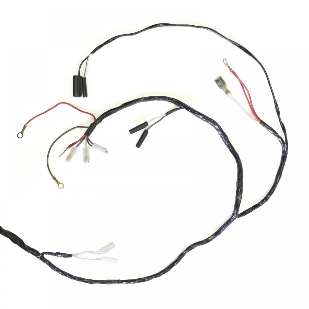 wire harness - triumph 3t    5ta    6t - 1965 to 1966