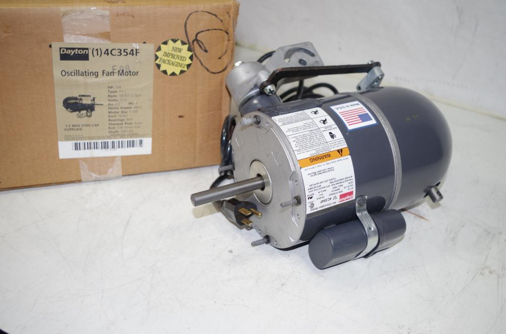 Dayton Circulator Pump : Dayton hp c f air circulator oscillating fan motor