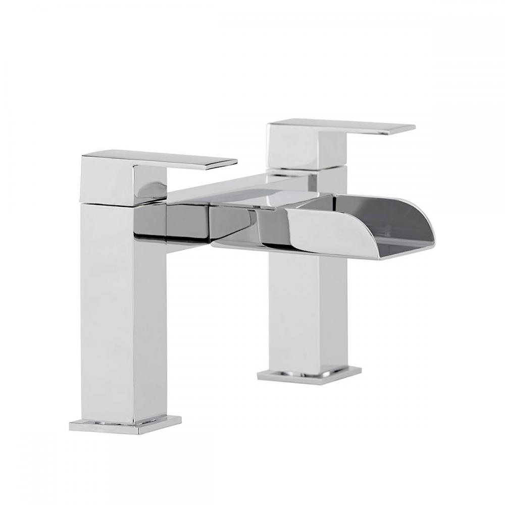 Washroom Taps : Piece Modern Bathroom Suite - Toilet Basin Bath Taps 63160 eBay