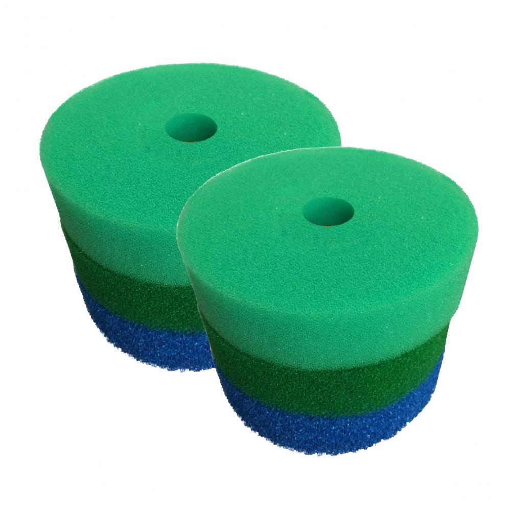Hozelock bioforce compatible filter foam sets for pond for Pond filter foam which way up