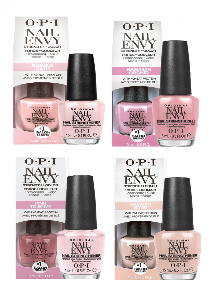 OPI NAIL ENVY - Strenghten and Colour DUAL PURPOSE - STRONG Nails ...