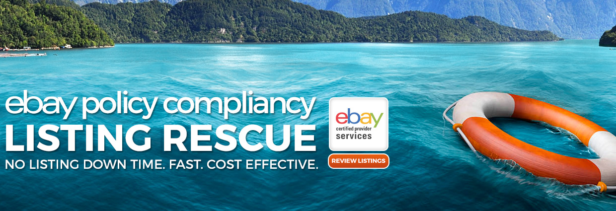 eBay Policy Listing Rescue: eBay Active Content Listing Rescue: No Listing Downtime. Fast. Cost Effective