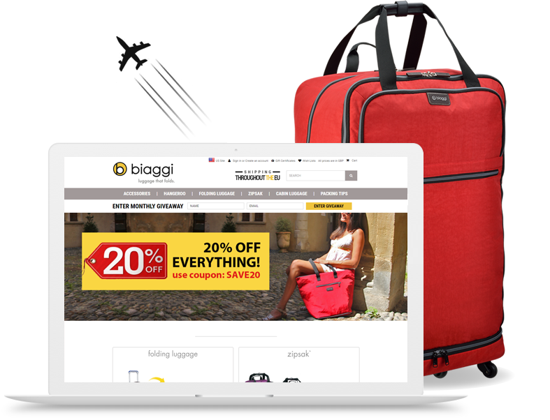 biaggi.co.uk: Biaggi Luggage