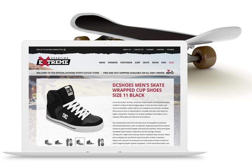 Sporting Extreme Skateboarding