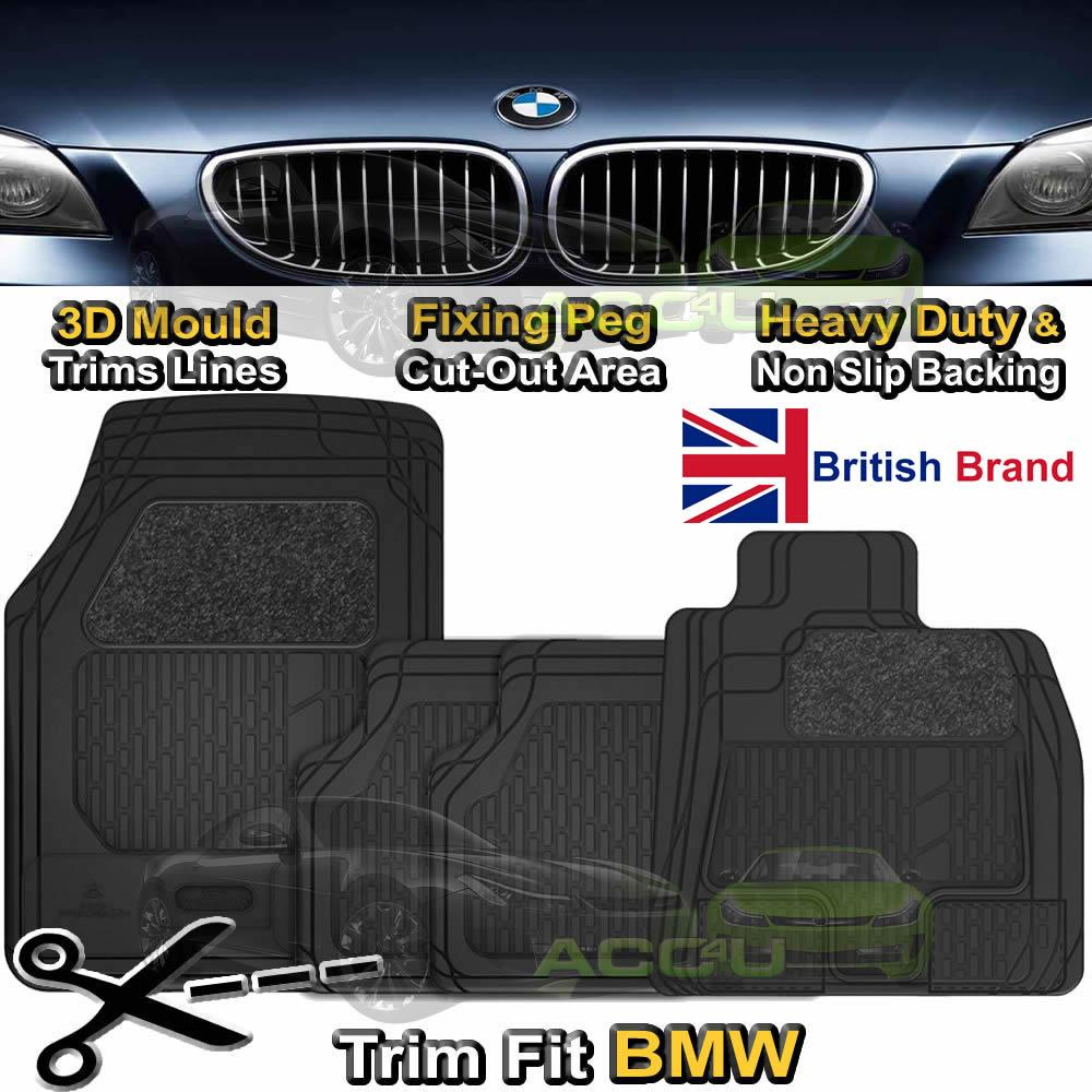 BMW X6 FULLY TAILORED 3MM RUBBER HEAVY DUTY CAR BOOT MAT