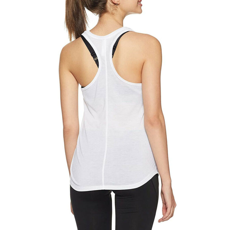Under Armour UA Run threadborne Heatgear Gris Femmes Streaker Tank Running Gilet