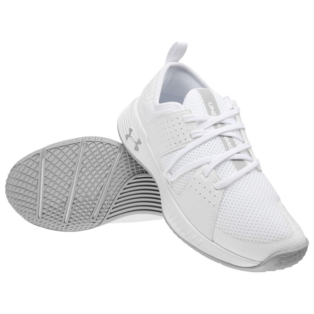 zapatos under armour blancos vintage