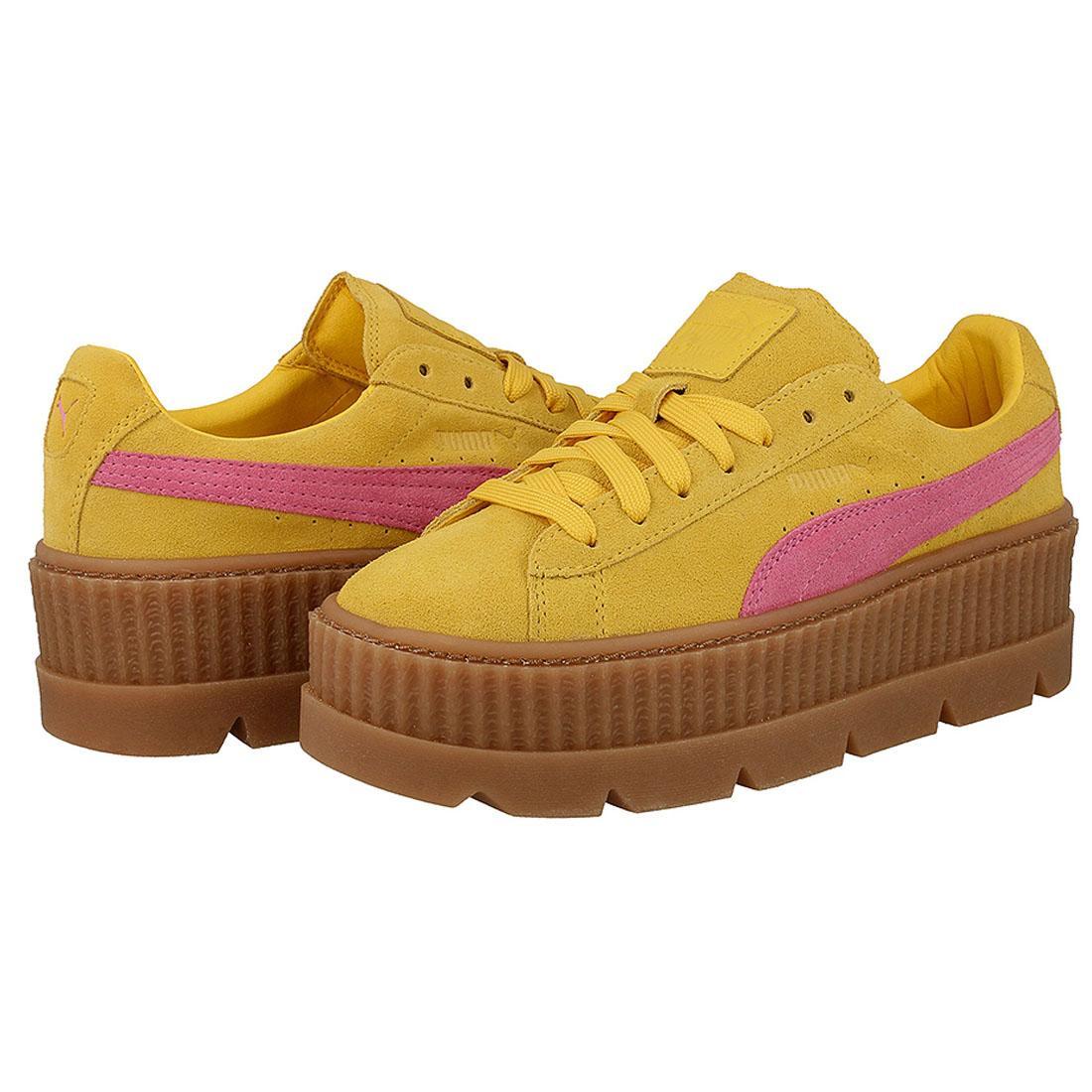 puma fenty yellow