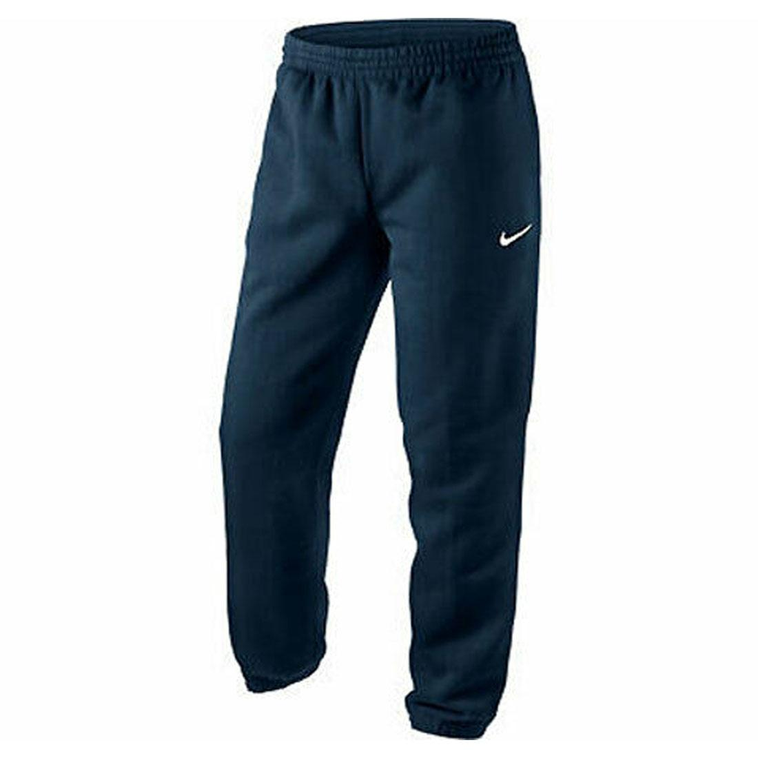 Details zu Nike Mens Club Swoosh Cuffed Pants Classic Joggers Gym Fleece Tracksuit Bottoms