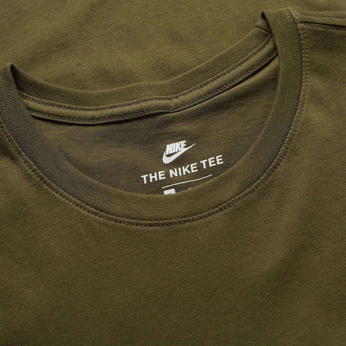 97a2bd0fdbae Nike Air Max Mens Green Camo Tshirt Athletic Cut Jersey Cotton Fitness Tee