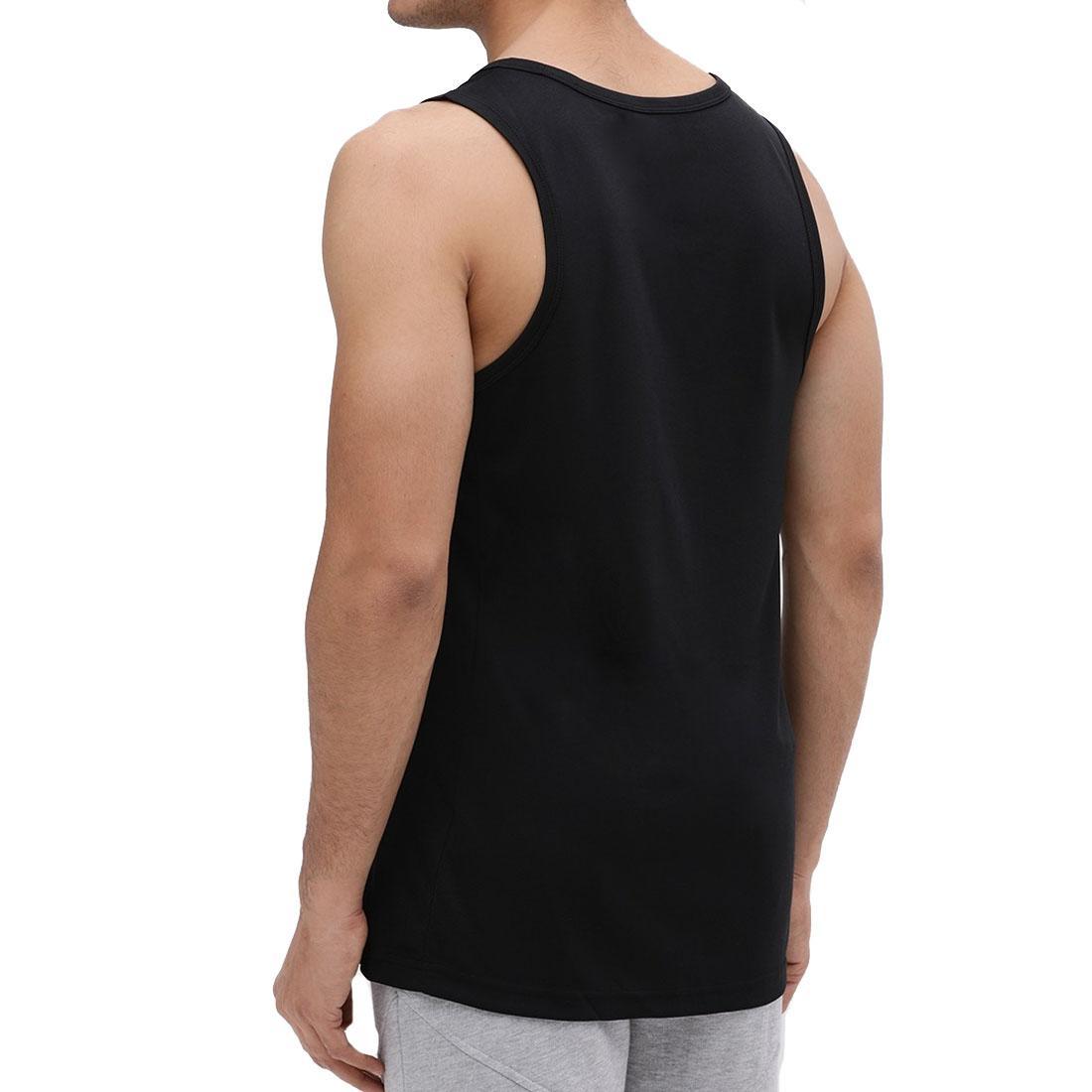 reputable site 349b9 2ac5f Nike Swoosh Mens Black Blue Vest Retro Sports Gym Sleeveless Athletic Tank
