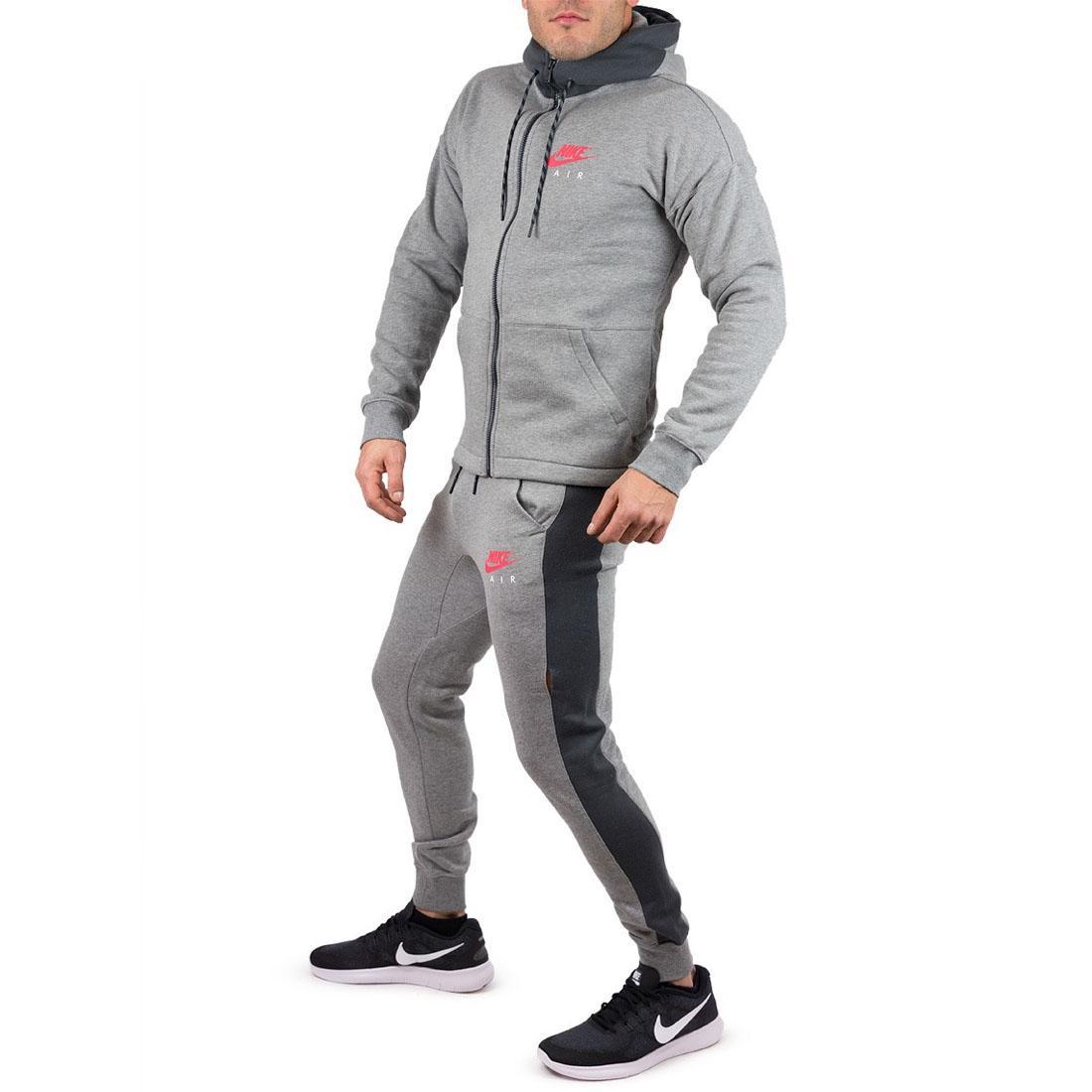 for whole family designer fashion save off Details zu Nike Luft NSW Herren Grau Trainingsanzug Sports ...