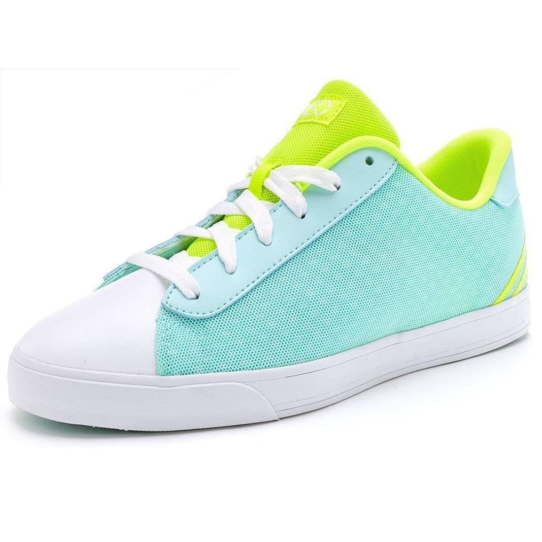 online retailer 80a28 aaa6a ADIDAS NEO da Donna Scarpe da ginnastica gomma punta verde menta Casual  Palestra