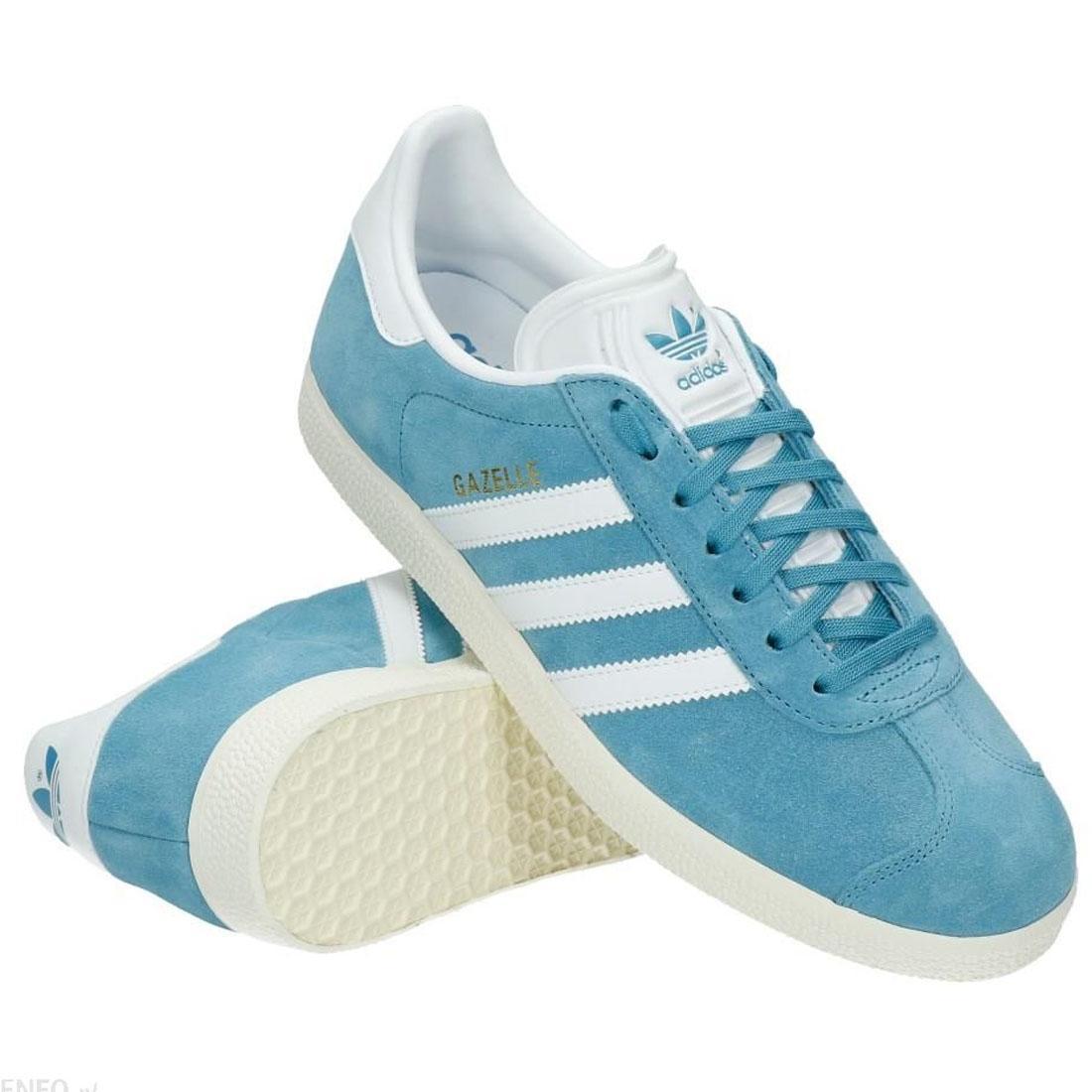 new arrival 1d919 71e98 Adidas originals Gazelle entrenadores azul blanco para hombre zapatos BZ0022