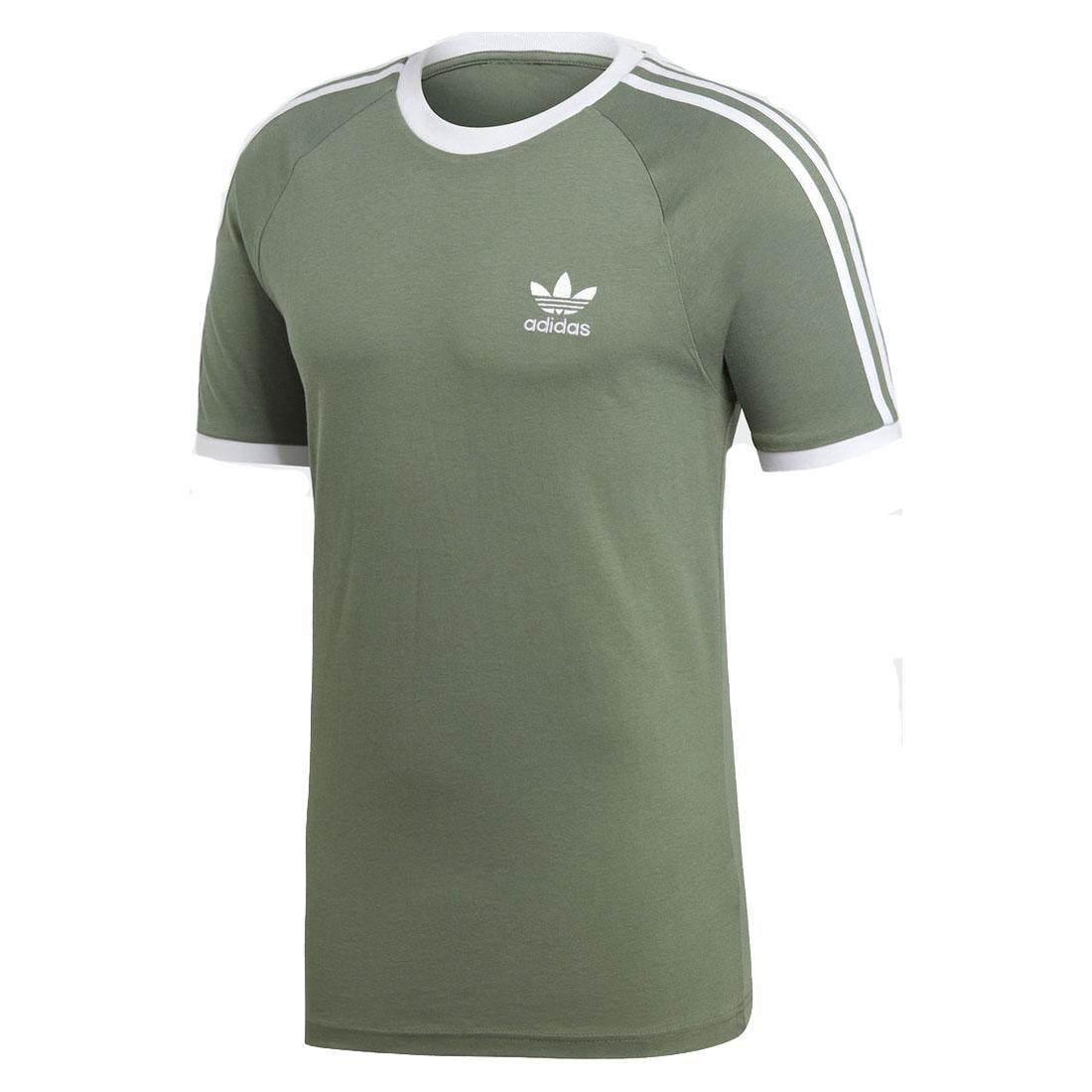adidas Originals adicolor 3 Stripe California T Shirt Mens