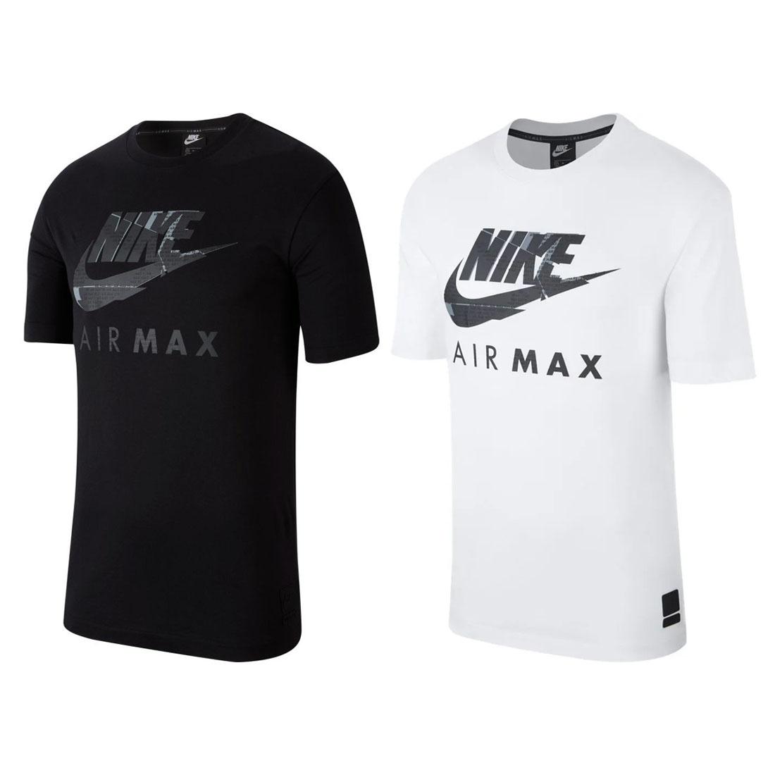 Nike Air Max NSW Mens Black White