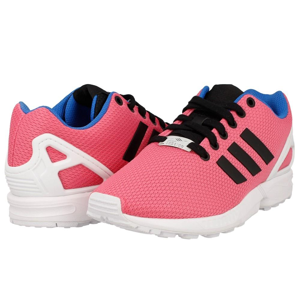 basket adidas zx flux rose