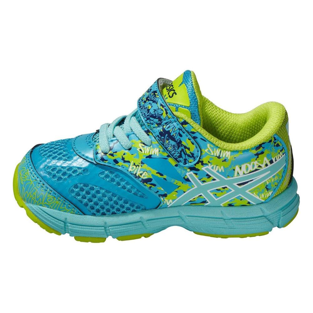 d9e7ca2751ad3 Asics GEL Noosa TRI 10 Trainers Island Blue Toddlers Kids Running Sports  Shoes