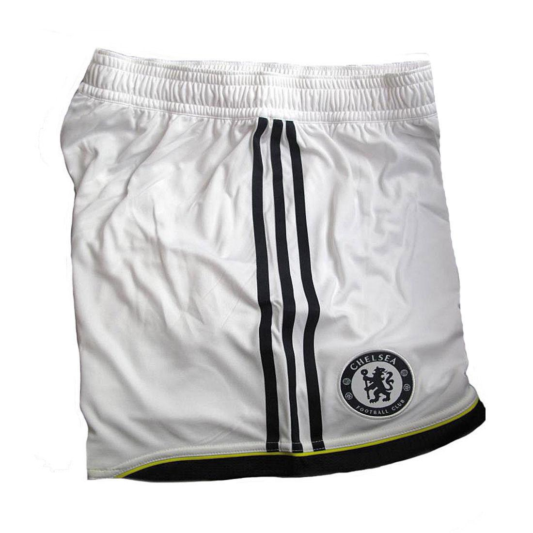 Chelsea FC Football Shorts Mens adidas White Player Issue 3rd 2010-12 Size  XL