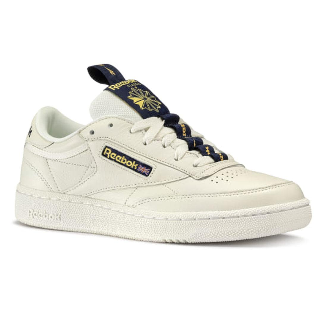 Details about Reebok Classic Leather Club C 85 Retro Mens White Trainers Sports Shoes UK 7.5