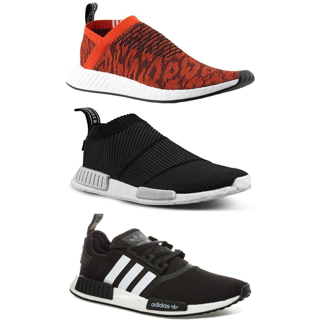 Details zu Adidas Original Nmd R1 CS1 CS2 Turnschuhe Primeknit Herren Sports Sportschuhe
