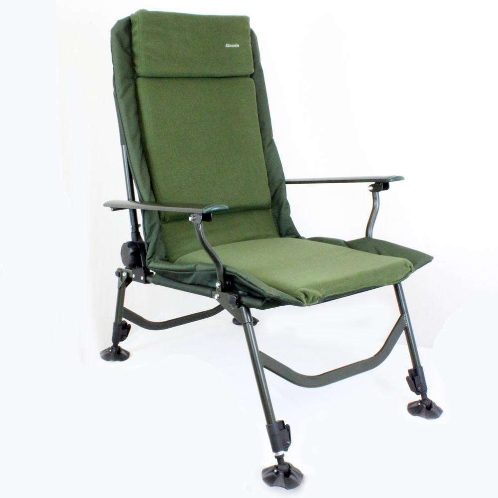 Abode 174 Carp Fishing Camping Chair Bed Bedchair Blanket