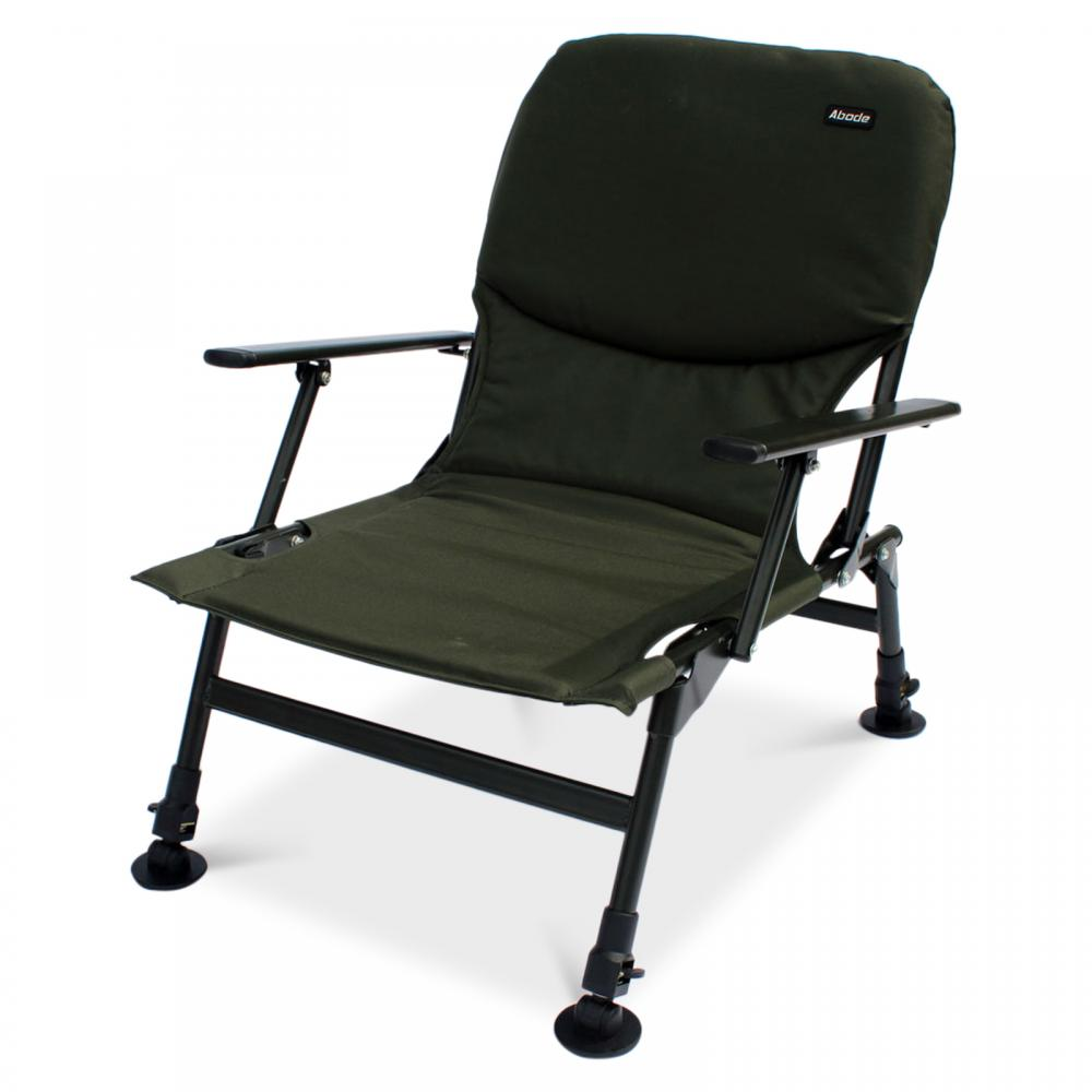 Pleasing Abode Easy Arm Carp Fishing Seat Camping Folding Chair Gmtry Best Dining Table And Chair Ideas Images Gmtryco