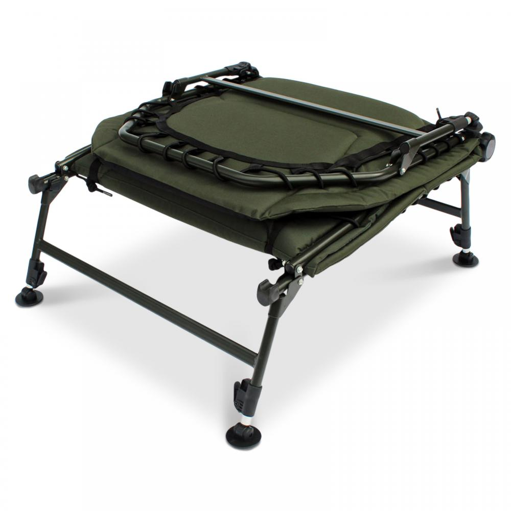 Abode 174 Dlx Oxford 6 Leg Super Carp Fishing Bed Chair