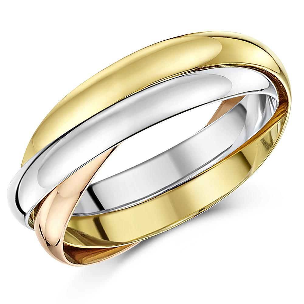 9ct russian wedding ring multi tone 3 colour gold band three colour 2mm 3mm 4mm - Russian Wedding Ring