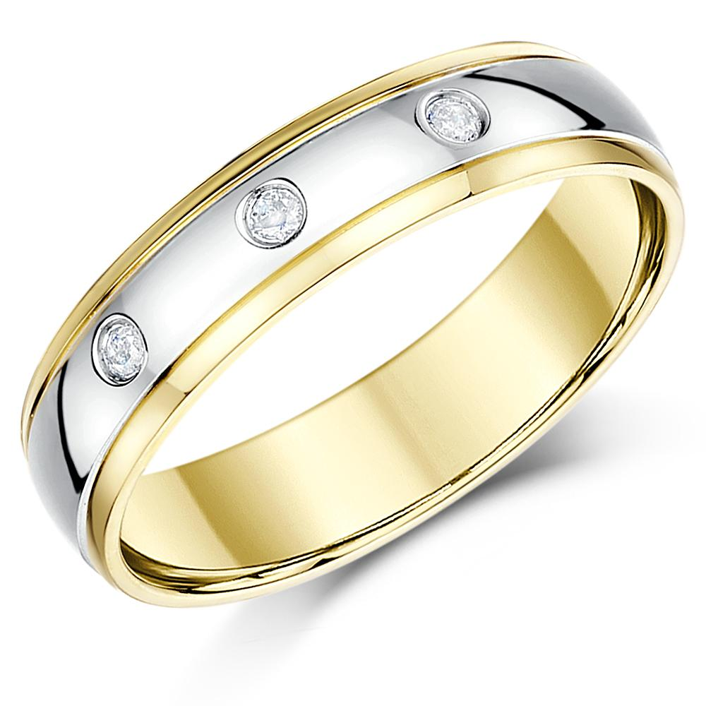 Ct White Gold Wedding Ring Mm
