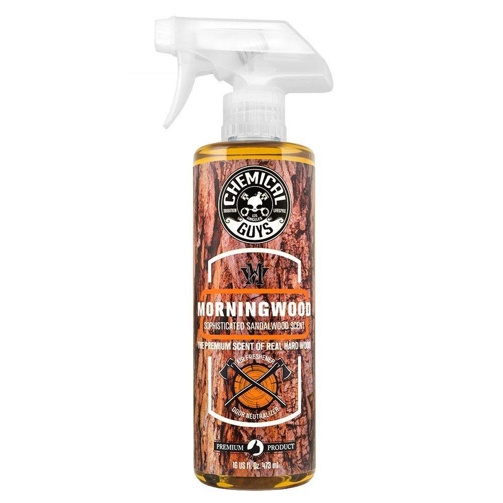 chemical guys morning wood car spray air freshener scent odour eliminator ebay. Black Bedroom Furniture Sets. Home Design Ideas