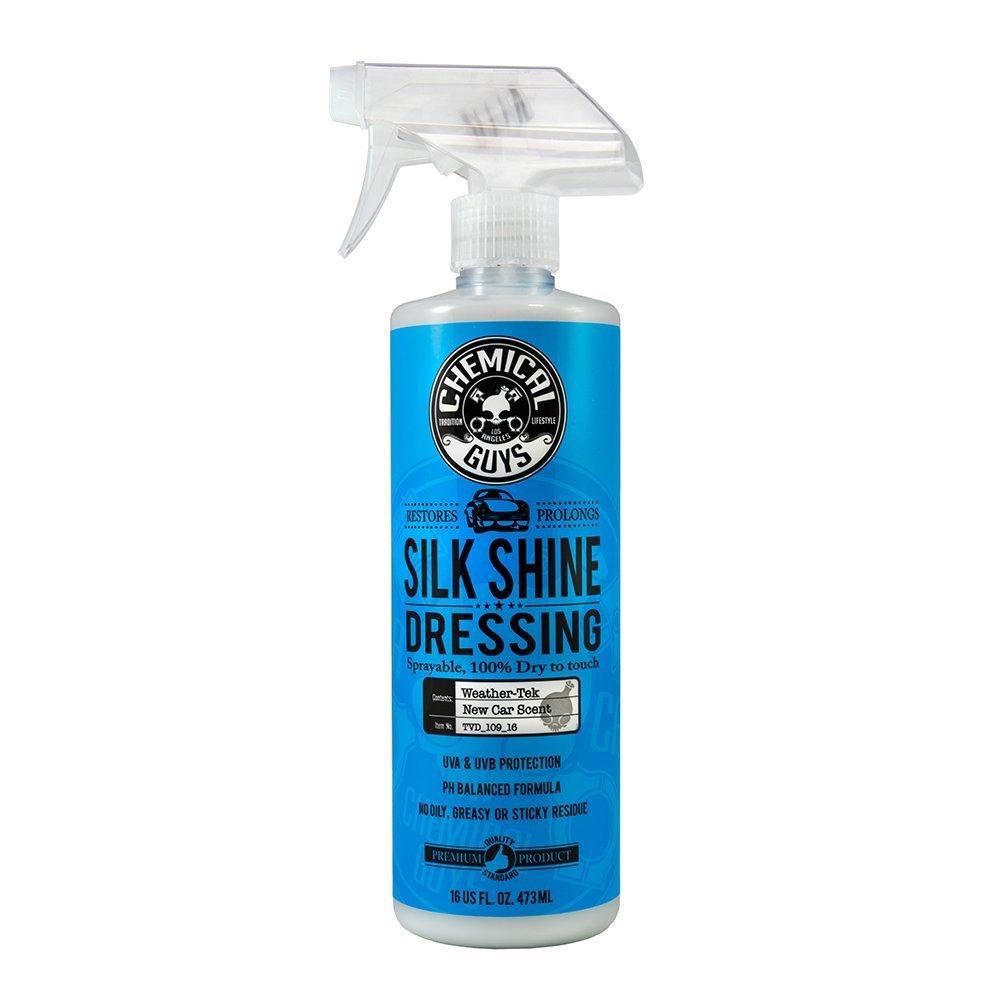 Chemical Guys Silk Shine Dressing Spray Vinyl Rubber