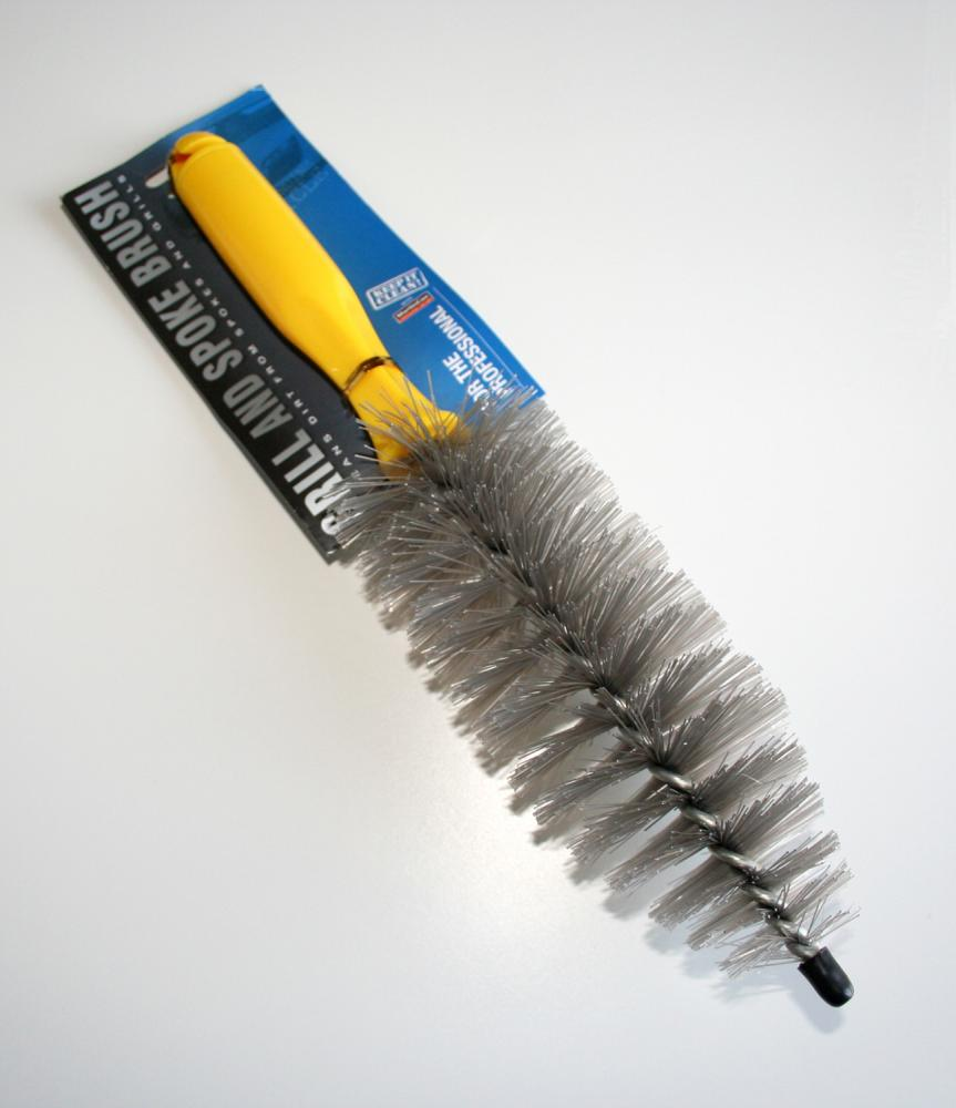 Car Grill & Spoke Brush Wheel & Exterior Cleaning Tool
