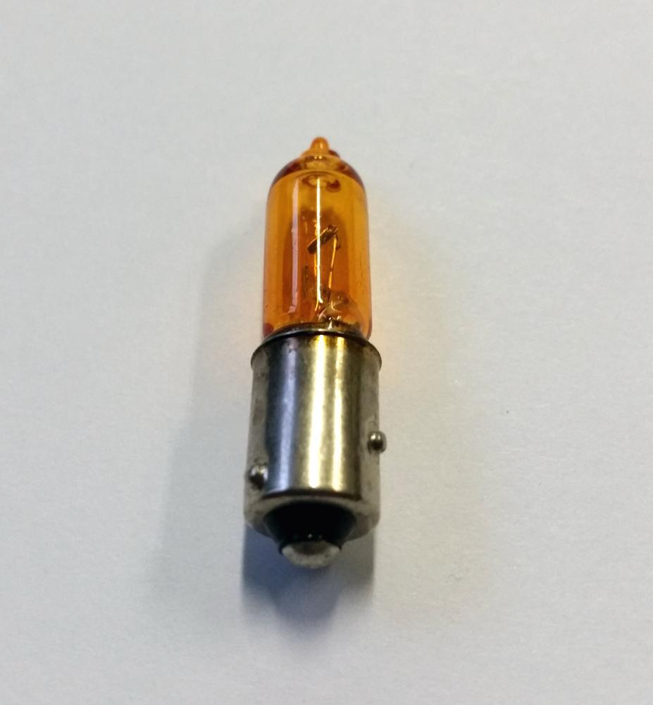 Hy21w 12v 21w Amber Orange Indicator Light Bulb Halogen Lamp Baw9s Ring R927 Ebay