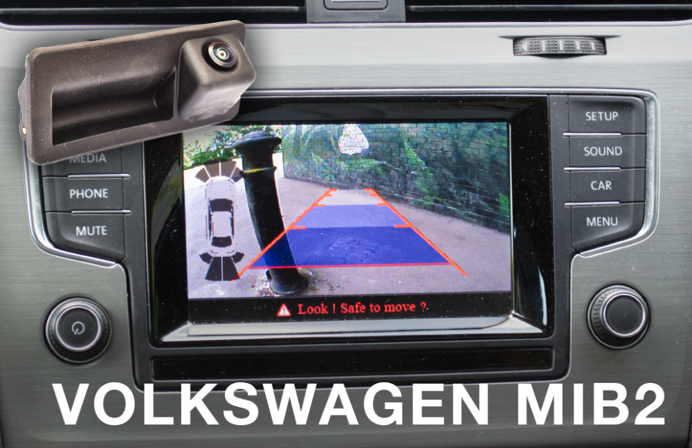 Details about Reverse Camera Integration Kit to fit VW vehicles fitted with  the MIB2 system
