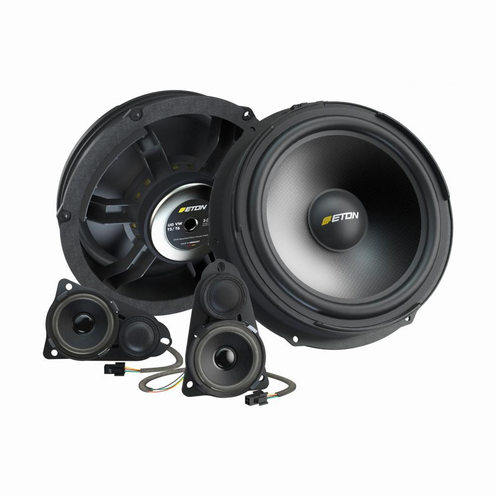 eton ug vw t5 f3 1 3 way car audio speaker upgrade for the. Black Bedroom Furniture Sets. Home Design Ideas