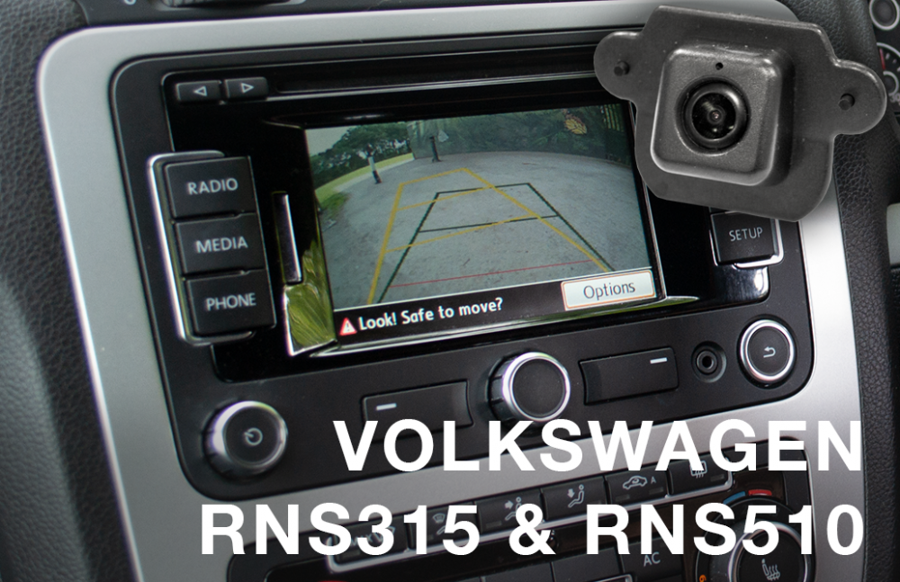Details about Reverse Camera Integration Kit to fit VW Amarok with RNS315  RNS510 fitted