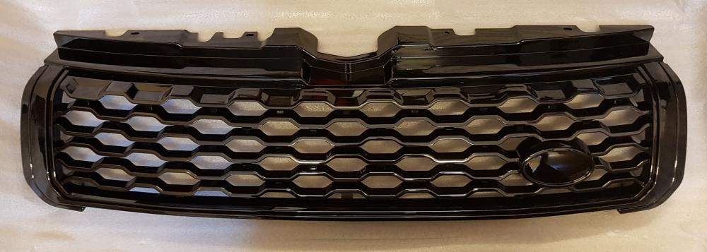 Dynamic Style Gloss Black Front Grille To Fit Range Rover