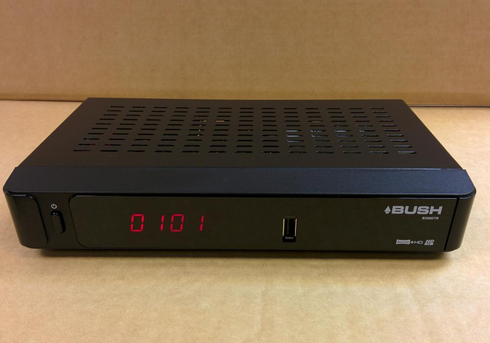 Bush B320DTR Freeview+ HD Digital Smart TV Recorder -320GB with USB Media Player 5060086718492