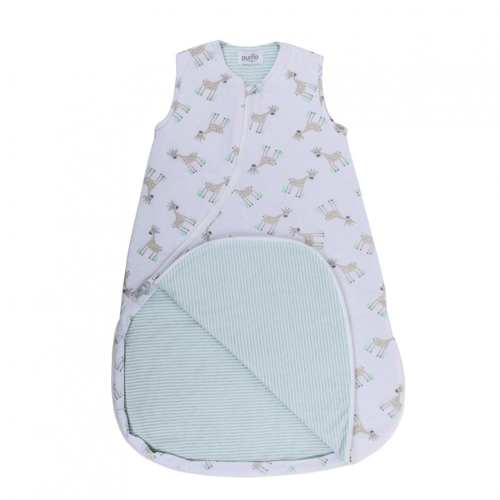 Organic Cotton Baby Sleeping Bag by Snoozy Baby Fox 0-6 months /& 6-18 months