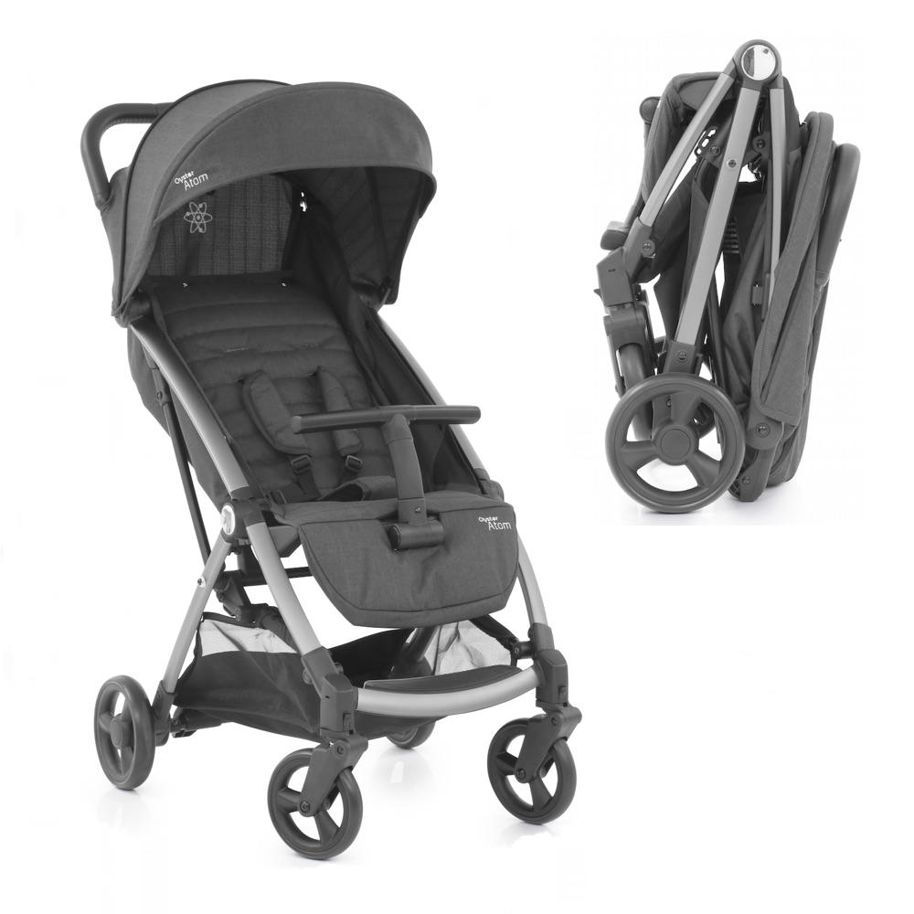 oyster atom lightweight compact pushchair birth to 15kg free car