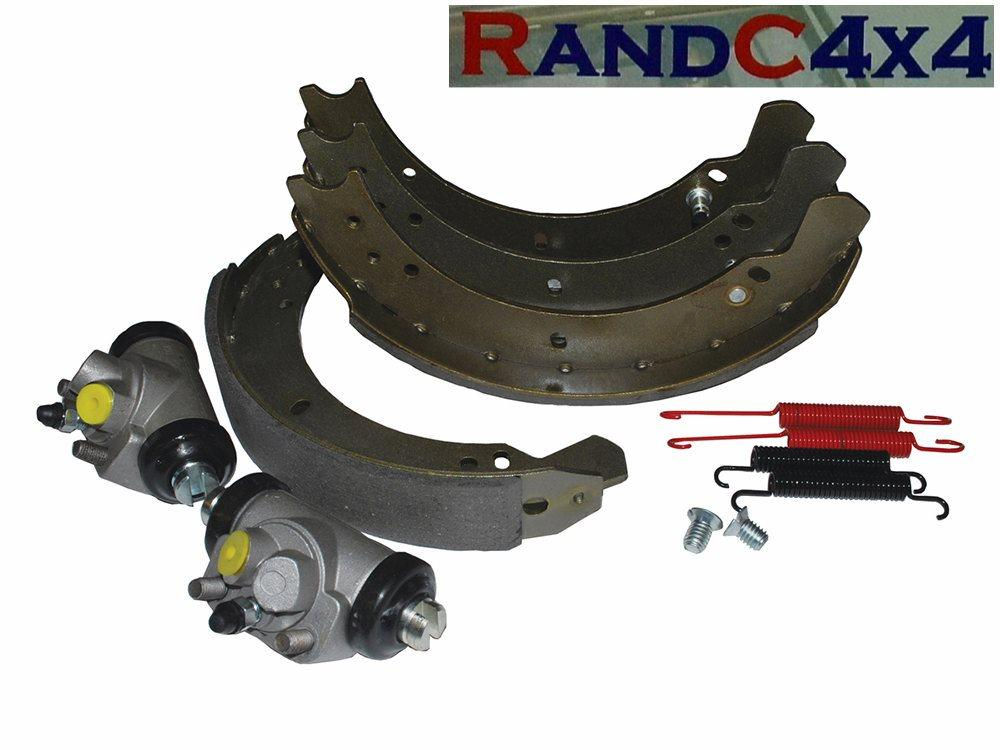 6043 land rover series 2 2a 3 swb rear brake shoe wheel. Black Bedroom Furniture Sets. Home Design Ideas