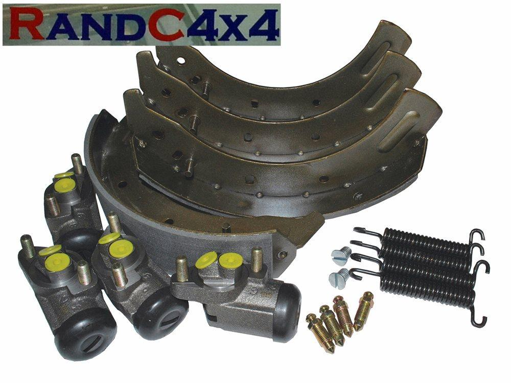 6047 Land Rover Series 3 LWB Rear Brake Shoe /& Wheel Cylinders Kit