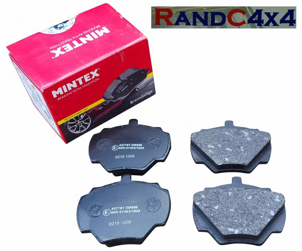 Rear Brake Pads Set Left and Right For 1999-2004 LAND ROVER DISCOVERY